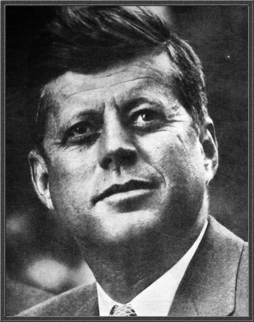 JFK John Fitzgerald Kennedy